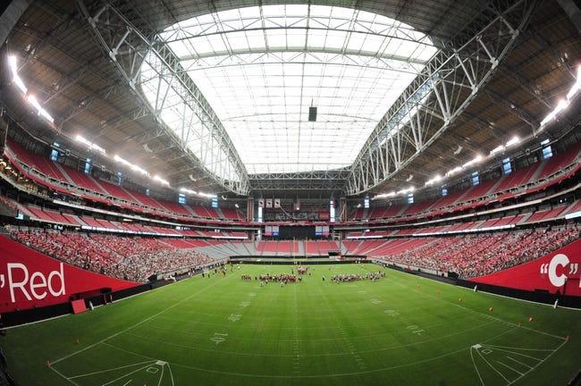 Jul 26, 2014; Tempe, AZ, USA; General view of University of Phoenix during Arizona Cardinals training camp. Mandatory Credit: Matt Kartozian-USA TODAY Sports