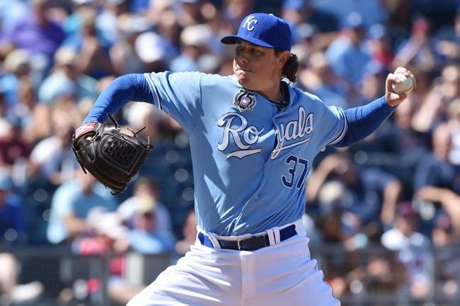 Jul 27, 2014; Kansas City, MO, USA; Kansas City Royals pitcher Scott Downs (37) delivers a pitch against the Cleveland Indians during the eighth inning at Kauffman Stadium. Mandatory Credit: Peter G. Aiken-USA TODAY Sports