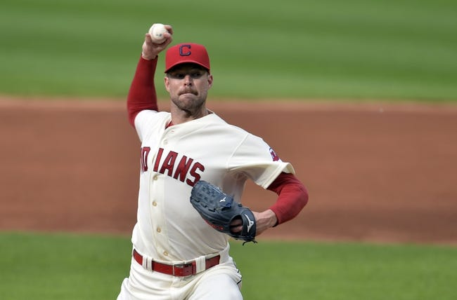 Sep 1, 2014; Cleveland, OH, USA; Cleveland Indians starting pitcher Corey Kluber (28) delivers in at the second inning against the Detroit Tigers at Progressive Field. Mandatory Credit: David Richard-USA TODAY Sports