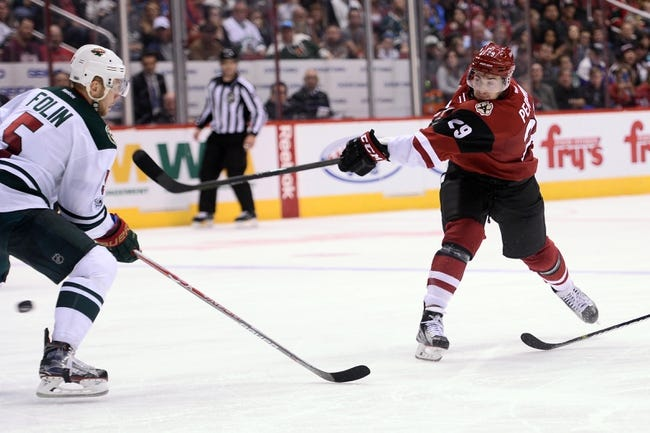 NHL | Arizona Coyotes (12-32-9) at Minnesota Wild (29-19-5)