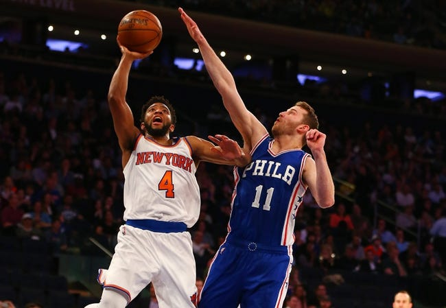 New York Knicks vs. Philadelphia 76ers - 12/25/17 NBA Pick, Odds, and Prediction