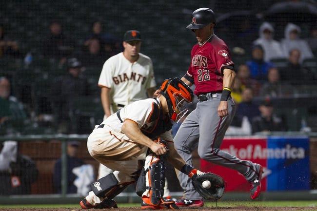 San Francisco Giants vs. Arizona Diamondbacks - 8/4/17 MLB Pick, Odds, and Prediction