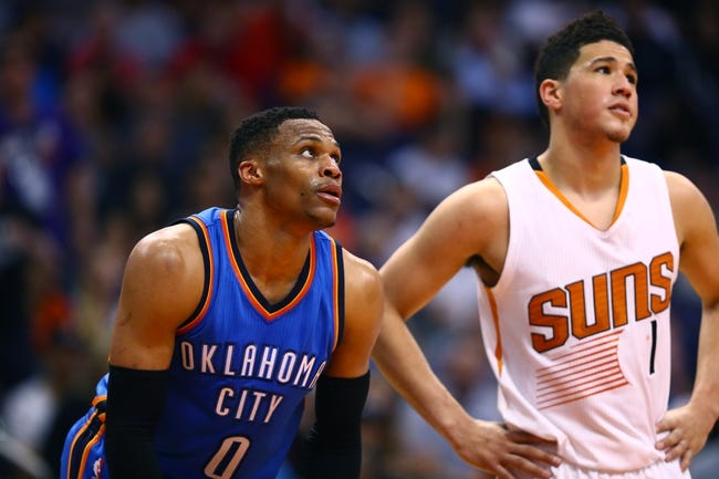 Phoenix Suns vs. Oklahoma City Thunder - 1/7/18 NBA Pick, Odds, and Prediction