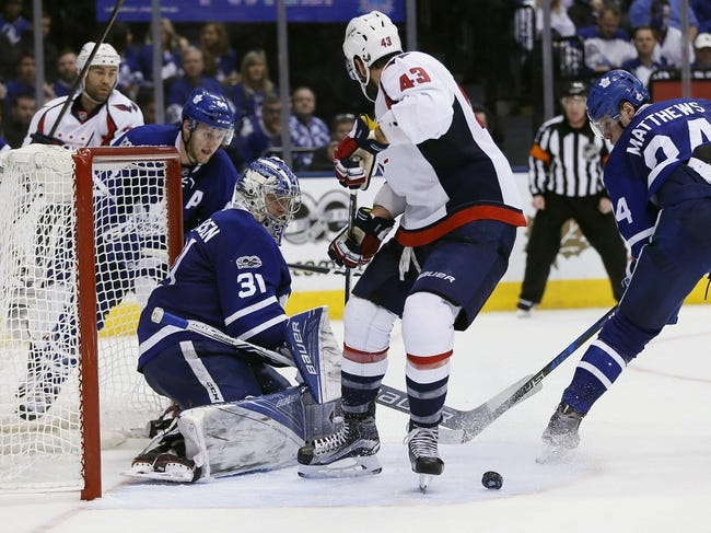 Leafs are down but not out of tight series against Capitals