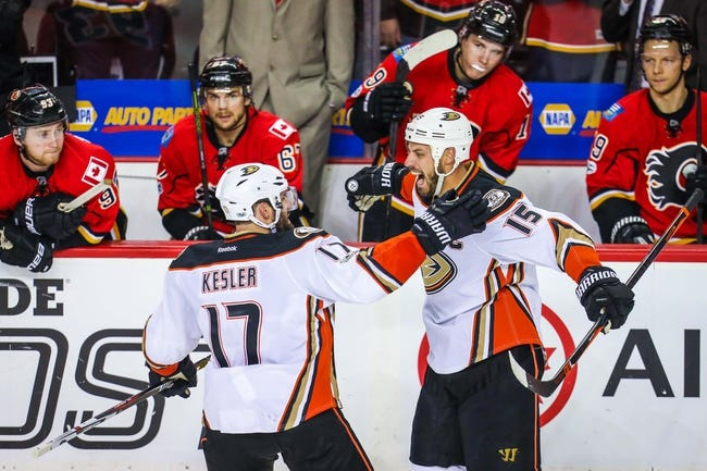 Anaheim Ducks vs. Calgary Flames - 10/9/17 NHL Pick, Odds, and Prediction
