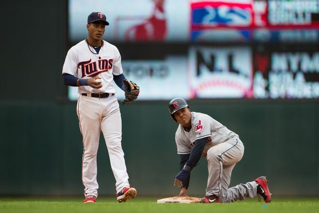 Eric Santana, Miguel Sano lead Twins over Indians 1-0