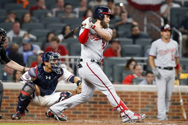 Atlanta Braves vs. Washington Nationals - 5/19/17 MLB Pick, Odds, and Prediction