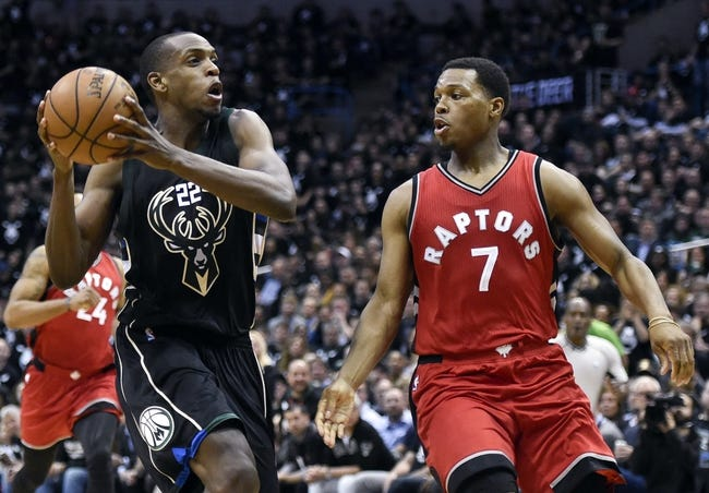 Raptors even National Basketball Association playoff ledger with Bucks