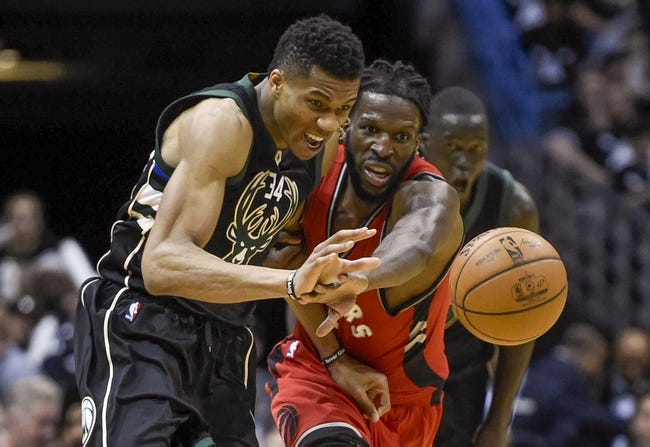 Milwaukee Bucks vs. Toronto Raptors - 4/22/17 NBA Pick, Odds, and Prediction