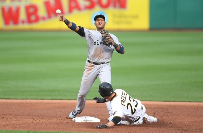Pirates get to Sabathia early, top Yankees 6-3