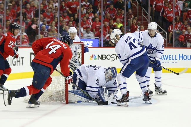 Toronto Maple Leafs vs. Washington Capitals - 4/19/17 NHL Pick, Odds, and Prediction