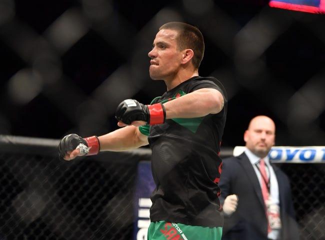 Dustin Ortiz vs. Hector Sandoval UFC Pick, Preview, Odds, Prediction - 8/5/17