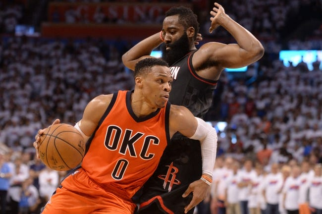 Oklahoma City Thunder vs. Houston Rockets - 11/8/18 NBA Pick, Odds, and Prediction