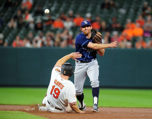 Longoria, Peterson lead Rays over Orioles 15-5
