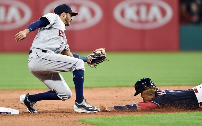 Houston Astros vs. Cleveland Indians - 5/19/17 MLB Pick, Odds, and Prediction
