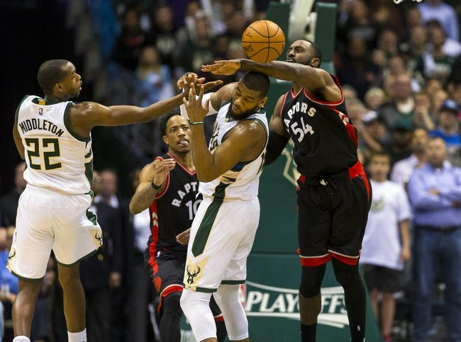 Toronto Raptors vs. Milwaukee Bucks - 1/1/18 NBA Pick, Odds, and Prediction