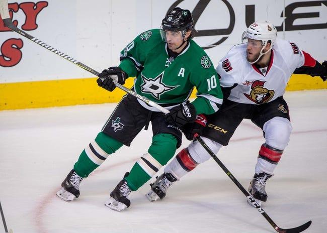 Dallas Stars vs. Ottawa Senators - 3/5/18 NHL Pick, Odds, and Prediction
