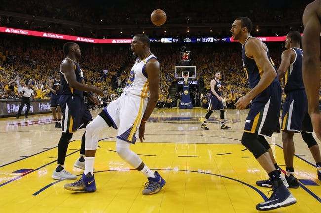Durant carries Warriors past Jazz in Game 3