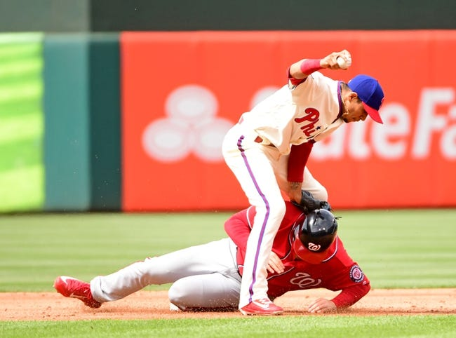Phillies rally to late 4-3 win over Nationals
