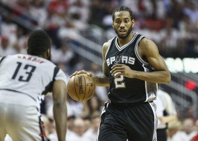 Spurs Squeeze By Rockets For Game 5 Win, Leonard