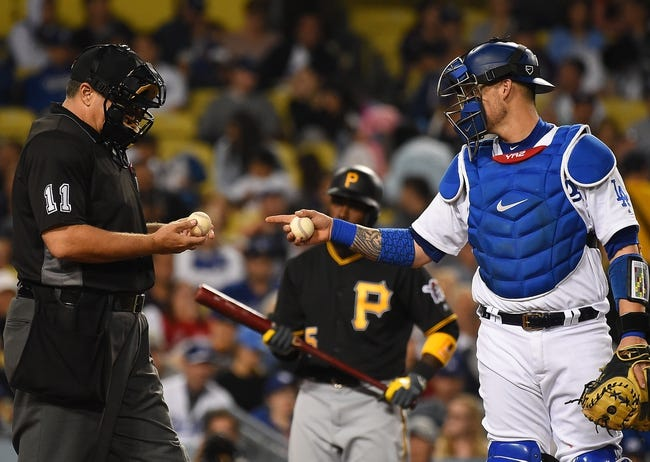 Image result for Los Angeles Dodgers vs Pittsburgh Pirates