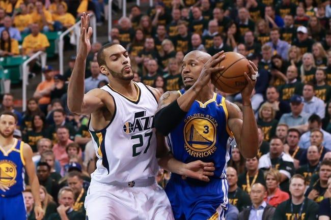 Golden State Warriors vs. Utah Jazz - 12/27/17 NBA Pick, Odds, and Prediction