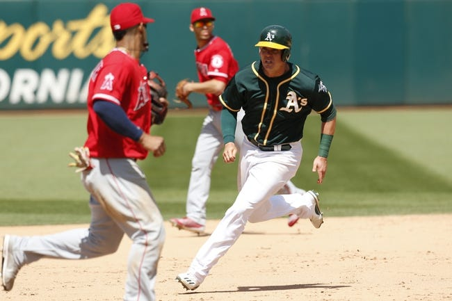 Los Angeles Angels vs. Oakland Athletics - 8/4/17 MLB Pick, Odds, and Prediction