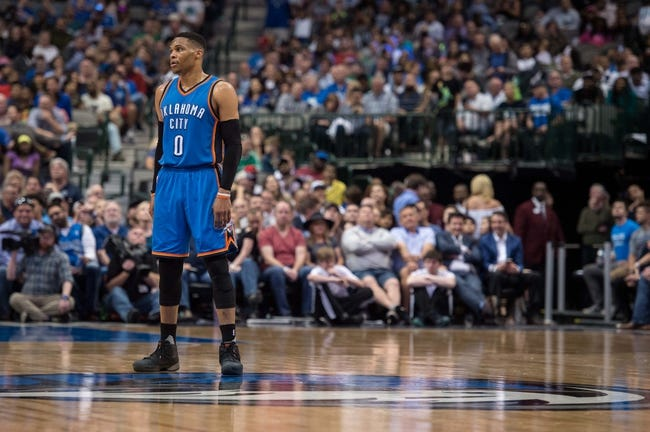 Oklahoma City Thunder vs. Dallas Mavericks - 11/12/17 NBA Pick, Odds, and Prediction