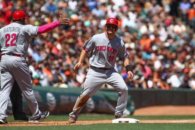 San Francisco Giants vs. Cincinnati Reds - 5/14/18 MLB Pick, Odds, and Prediction