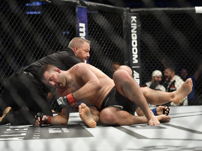 Gadzhimurad Antigulov vs. Ion Cutelaba UFC on Fox 30 Pick, Preview, Odds, Prediction - 7/28/18