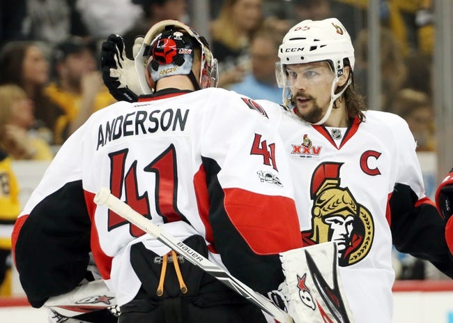 Pittsburgh Penguins vs. Ottawa Senators - 5/15/17 NHL Pick, Odds
