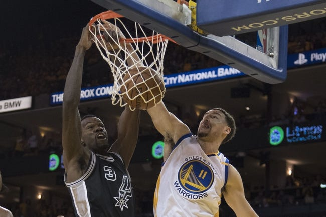 Warriors drub Spurs to edge closer to NBA Finals spot