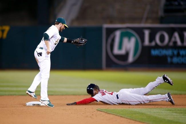 Oakland Athletics vs. Boston Red Sox - 5/19/17 MLB Pick, Odds, and Prediction
