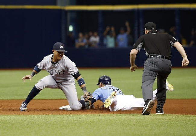 New York Yankees vs. Tampa Bay Rays - 7/27/17 MLB Pick, Odds, and Prediction
