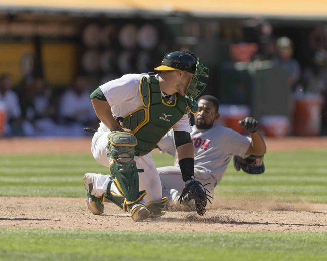 Boston Red Sox vs. Oakland Athletics - 9/12/17 MLB Pick, Odds, and Prediction