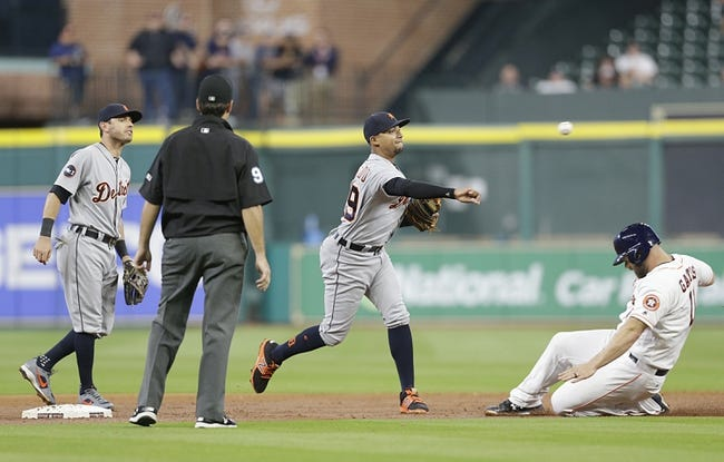 Astros silence Tigers' bats in one-hit shutout