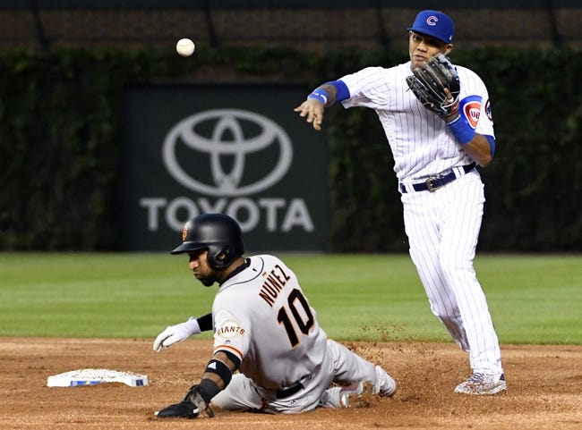 Panik homers as Giants beat Cubs