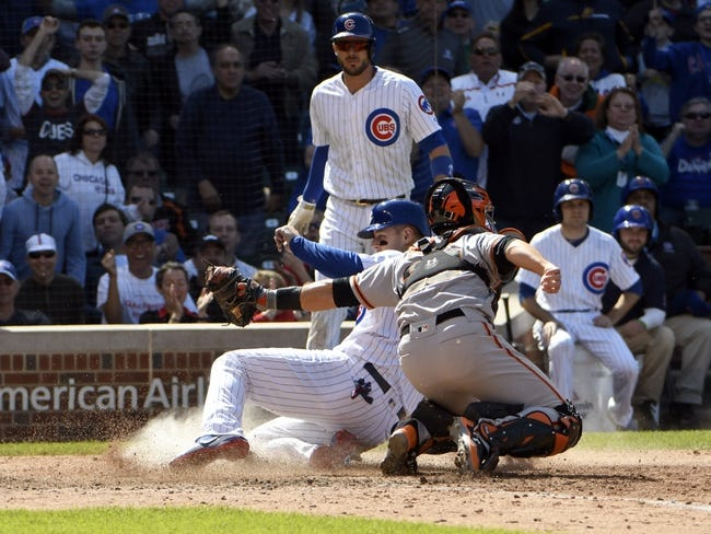 San Francisco Giants vs. Chicago Cubs - 8/7/17 MLB Pick, Odds, and Prediction