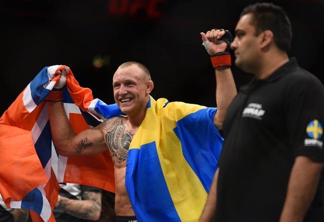 Brad Scott vs. Jack Hermansson UFC Pick, Preview, Odds, Prediction - 8/5/17