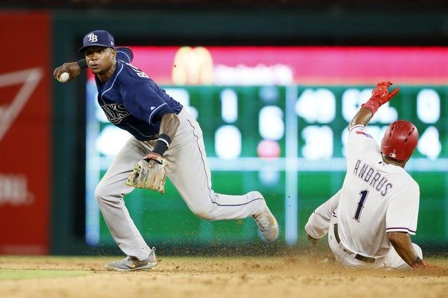 Tampa Bay Rays vs. Texas Rangers - 7/21/17 MLB Pick, Odds, and Prediction