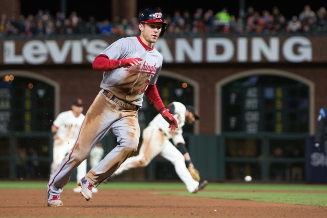 Washington Nationals vs. San Francisco Giants - 8/12/17 MLB Pick, Odds, and Prediction