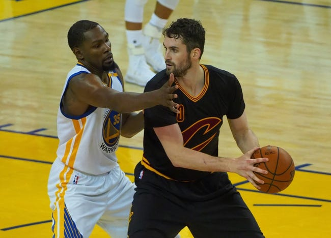 Golden State Warriors at Cleveland Cavaliers- 6/7/17 NBA Pick Odds and Prediction