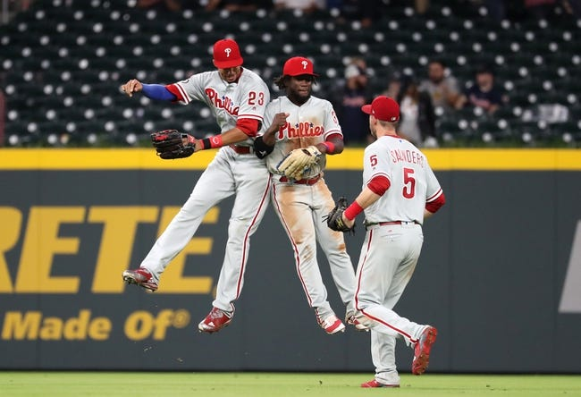 Braves bats quiet in 3-1 loss to the Phillies