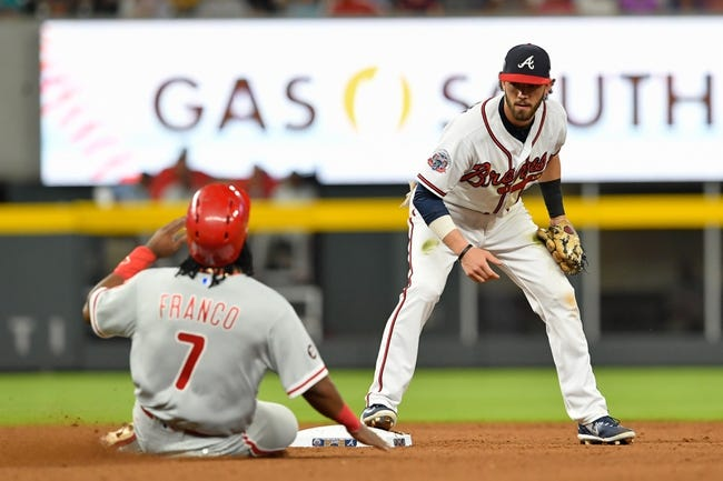 Foltynewicz sharp as Braves pound Phillies 14-1