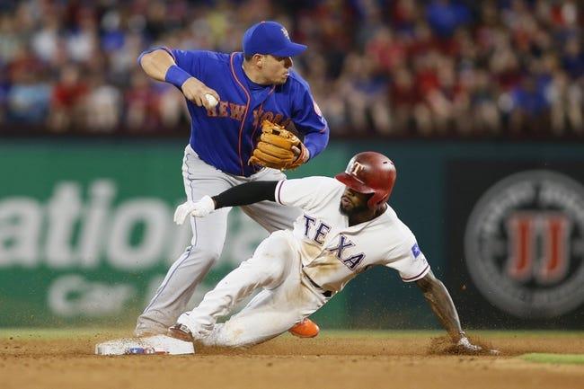 New York Mets vs. Texas Rangers - 8/8/17 MLB Pick, Odds, and Prediction