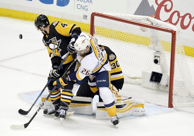Crosby doing it all again as Penguins close in on Cup