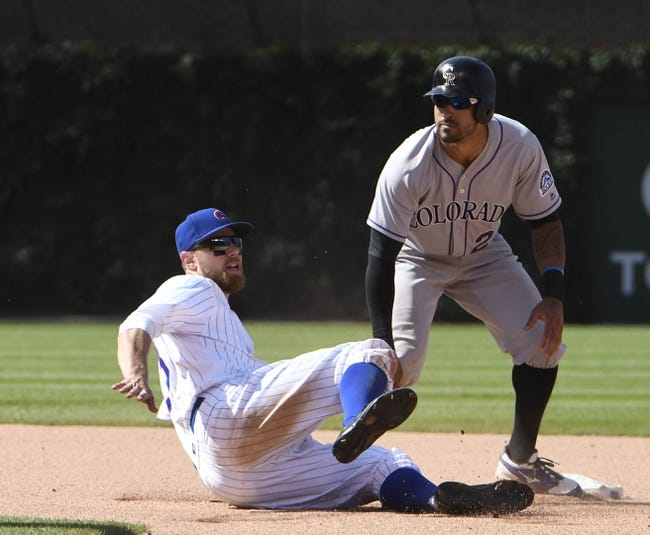 Cubs SS Addison Russell returns to lineup against Rockies