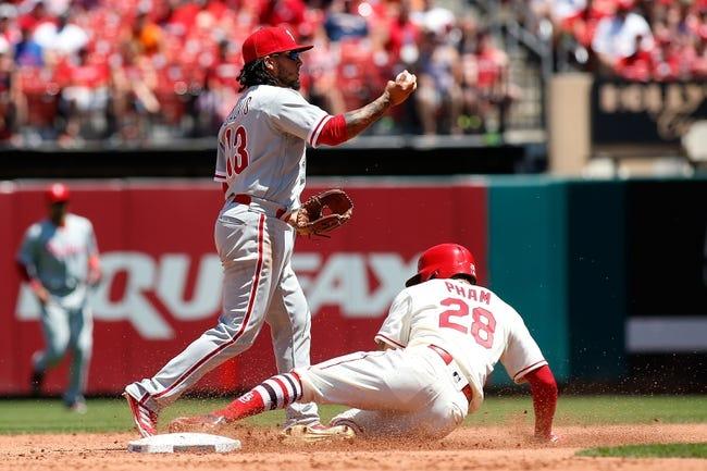 Diaz homers, Cardinals beat Phils to snap losing streak