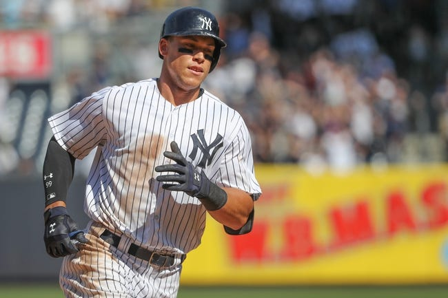 Baltimore Orioles vs. New York Yankees - 9/4/17 MLB Pick, Odds, and Prediction