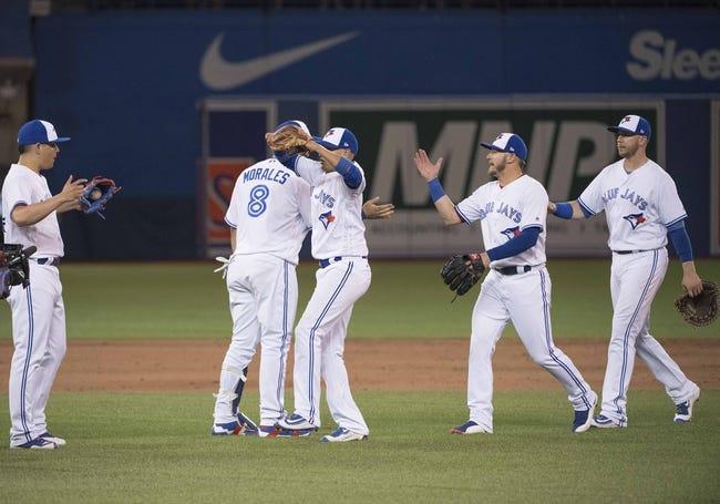 Toronto Blue Jays vs. Tampa Bay Rays - 8/14/17 MLB Pick, Odds, and Prediction
